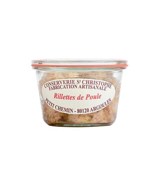 Rillettes di pollo - Conserverie Saint-Christophe