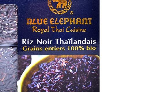 Riso Nero Tailandese bio - Blue Elephant