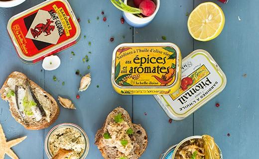 Insalata di sardine con melanzane, aglio e basilico - Belle-Iloise (La)
