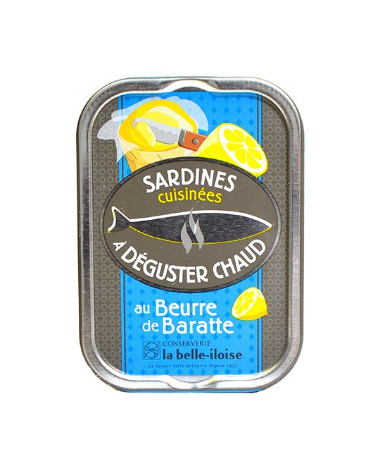 Sardine cotte nel burro di baratte - La Belle-Iloise