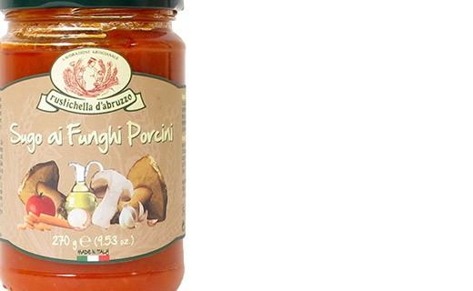 Sugo pomodoro e funghi - Rustichella d'Abruzzo