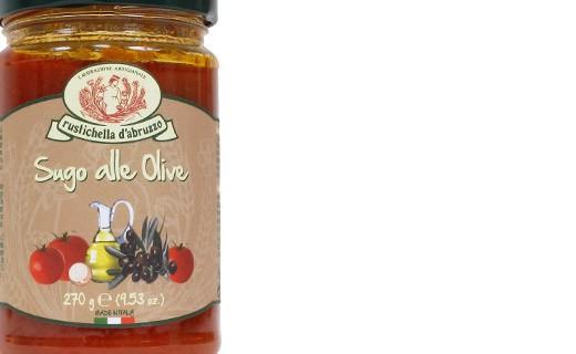 Sugo pomodoro e olive - Rustichella d'Abruzzo