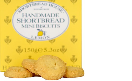 Shortbread Limone - Shortbread House of Edinburgh