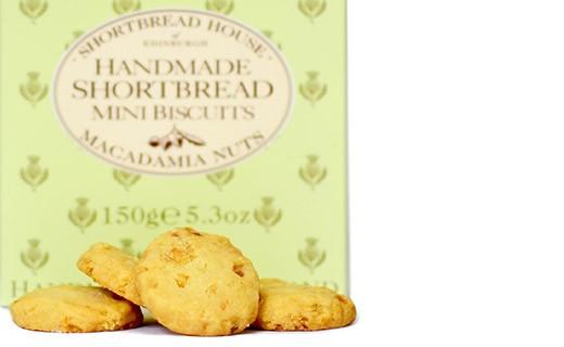 Shortbread Noce Macadamia - Shortbread House of Edinburgh