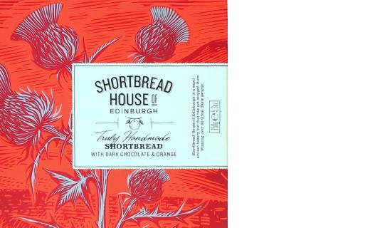 Shortbread Cioccolato e Arancia - Shortbread House of Edinburgh