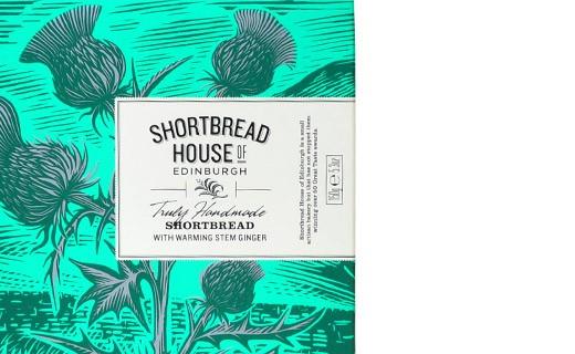Shortbread Zenzero candito - Shortbread House of Edinburgh