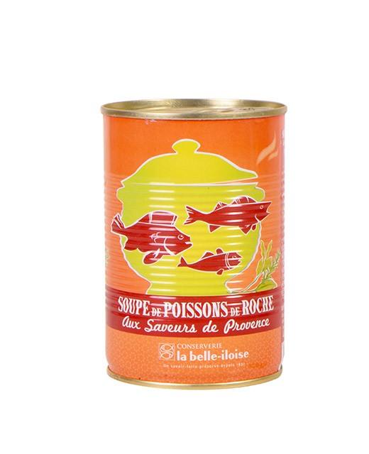 Zuppa di pesci di scoglio agli aromi di Provenza - Belle-Iloise (La)