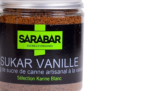 Zucchero artigianale - vaniglia - Sarabar