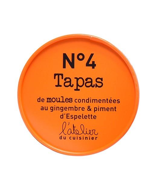 Tapas N°4 - Cozze allo zenzero et peperoncino di Espelette - L'Atelier du Cuisinier