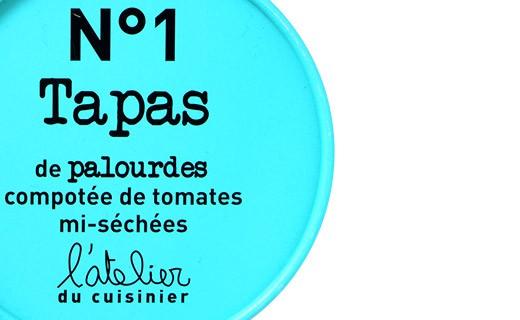 Tapas N°1 - Vongole e composta di pomodori semi-secchi - L'Atelier du Cuisinier