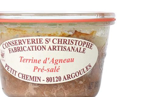 Terrina d'Agnello Pre-Salato - Conserverie Saint-Christophe
