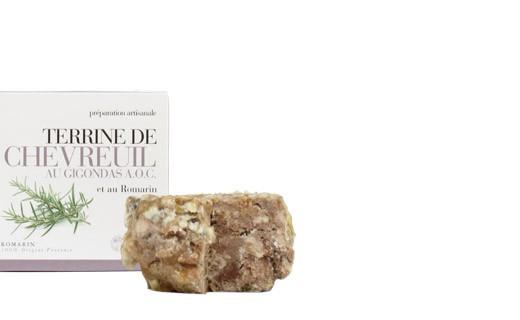 Paté di Capriolo al Gigondas e rosmarino - Provence Tradition