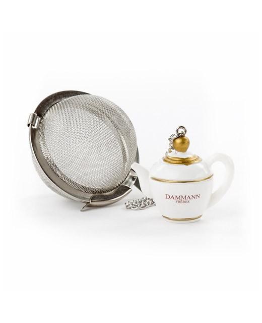 Infusore da tè a sfera teiera - Dammann Frères
