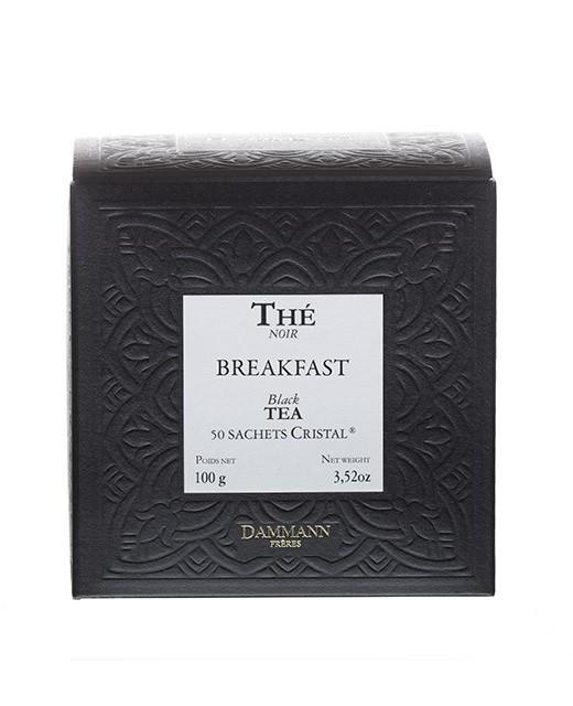 Tè Breakfast - filtri cristal - Dammann Frères