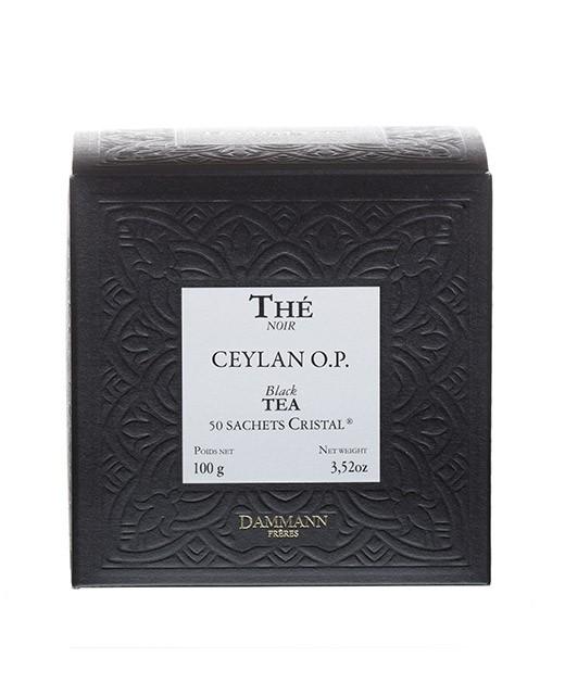 Tè Ceylon - filtri cristal - Dammann Frères
