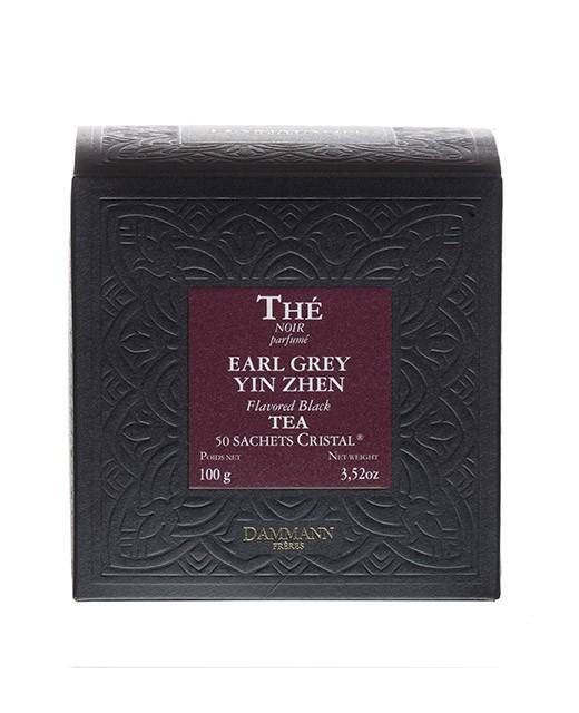 Tè Earl Grey Yin Zhen - filtri cristal - Dammann Frères