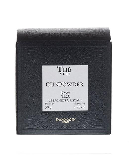 Tè Gunpowder - filtri cristal - Dammann Frères