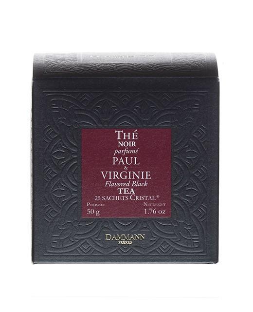 Tè Paul e Virginie - filtri cristal - Dammann Frères