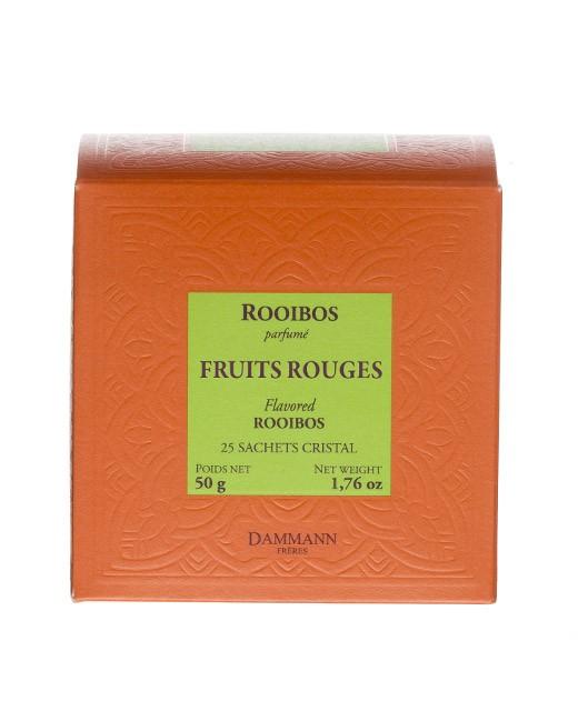 Tè Rooibos Frutti Rossi - filtri cristal - Dammann Frères