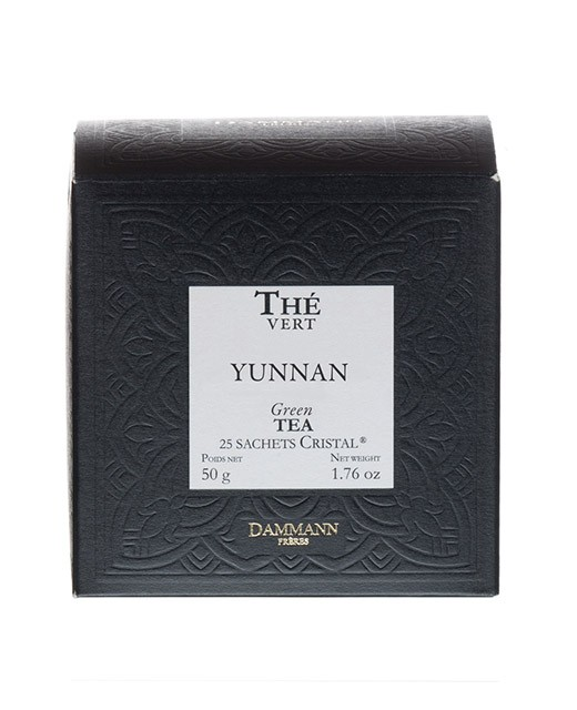 Tè Yunnan verde - filtri cristal - Dammann Frères
