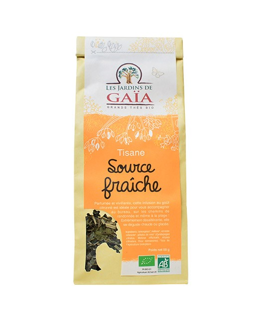 Tisana Sorgente fresca - Jardins de Gaïa (Les)